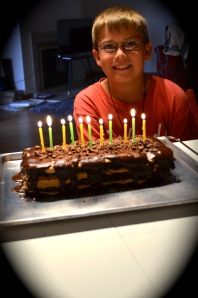 Asher turns 11