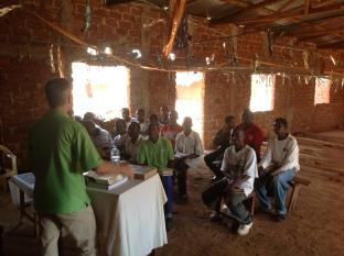 our colleague teaching